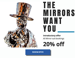 The Mirrors promo mirrorman mirror man m