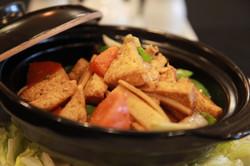 Vegetarian Tofu in Hot Pot
