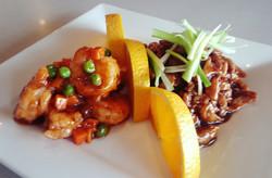 Shrimp and Pork Hunan Style