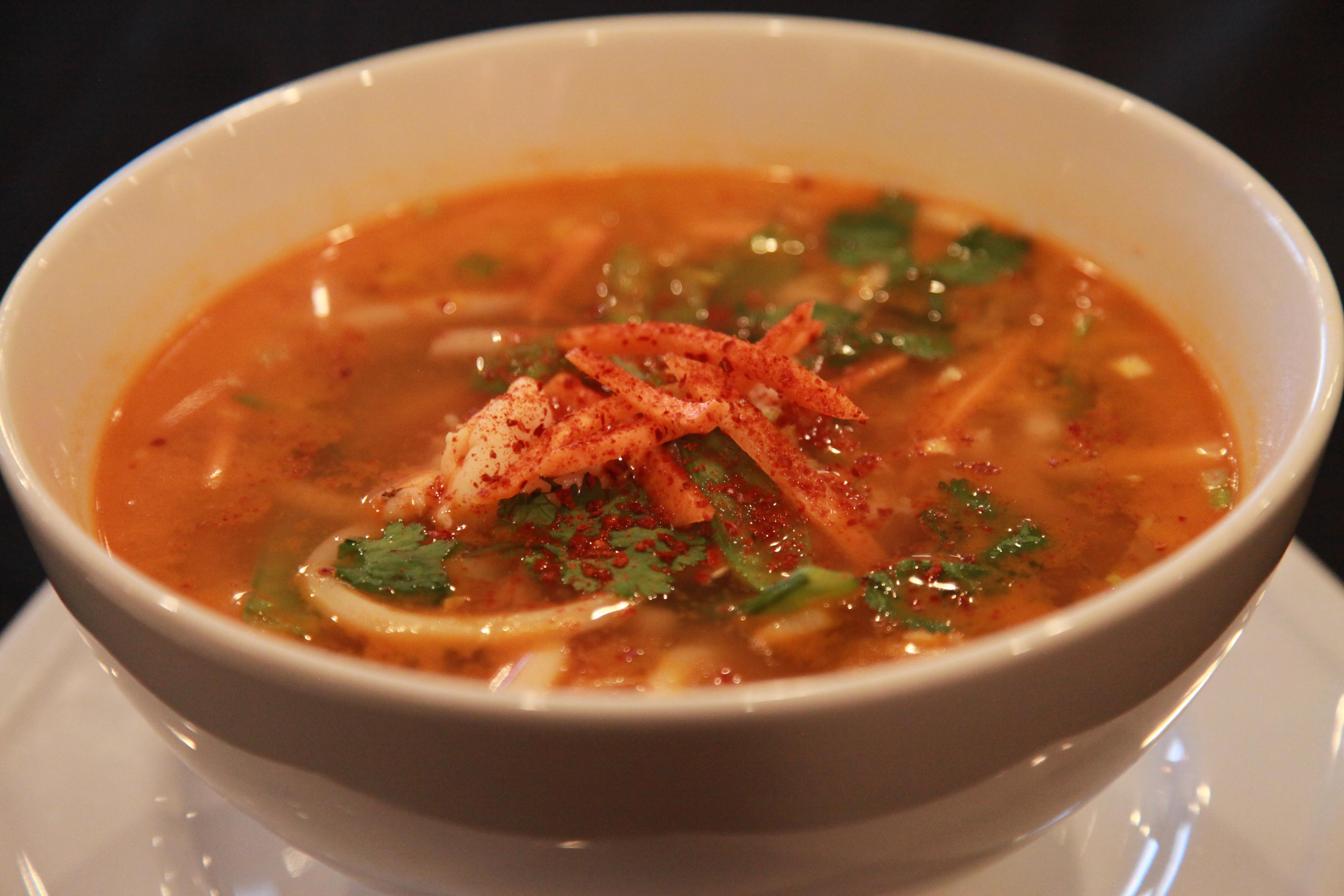 Jampong Seafood Soup