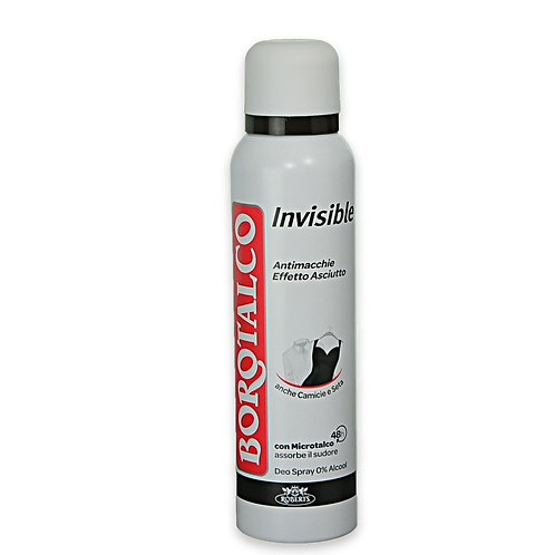 DEO SPRAY BOROTALCO INVISIBILE