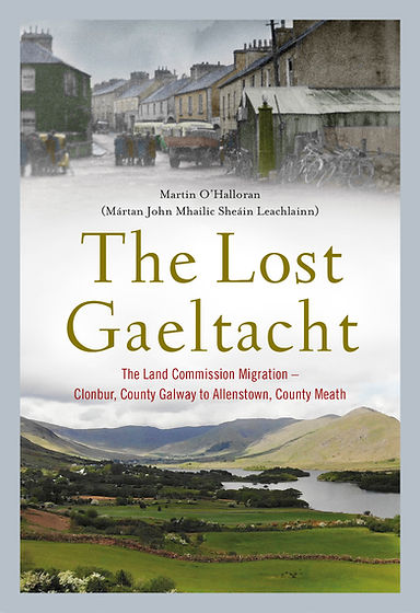The Lost Gaeltacht - book cover
