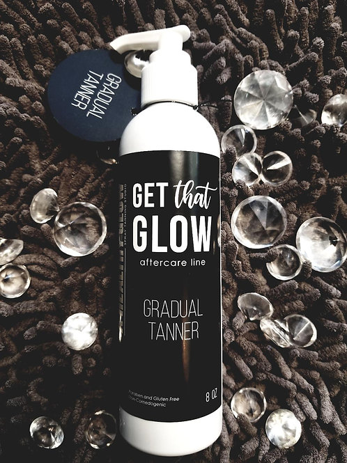 Get That Glow Gradual Tanner with Mitt