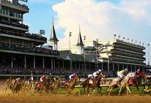Kentucky Derby Horse Track