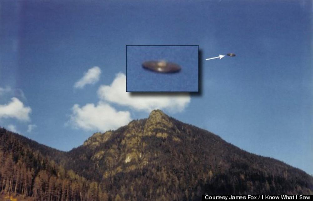 UFO fotografato da Hannah McRoberts all'isola di Vancouver Canada nel 1981
