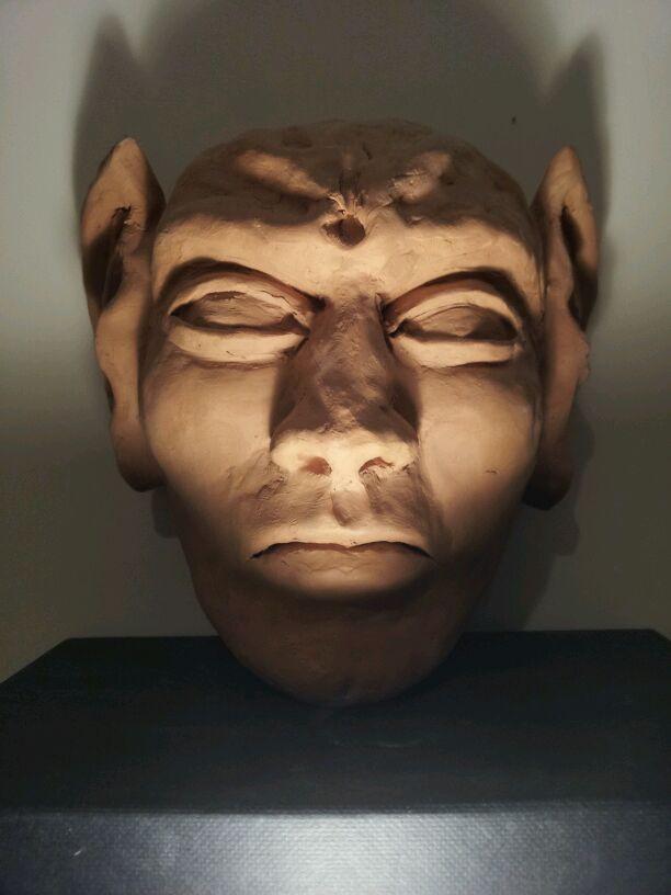 Aghartian Face (sculpture) © Pablo Ayo.jpg