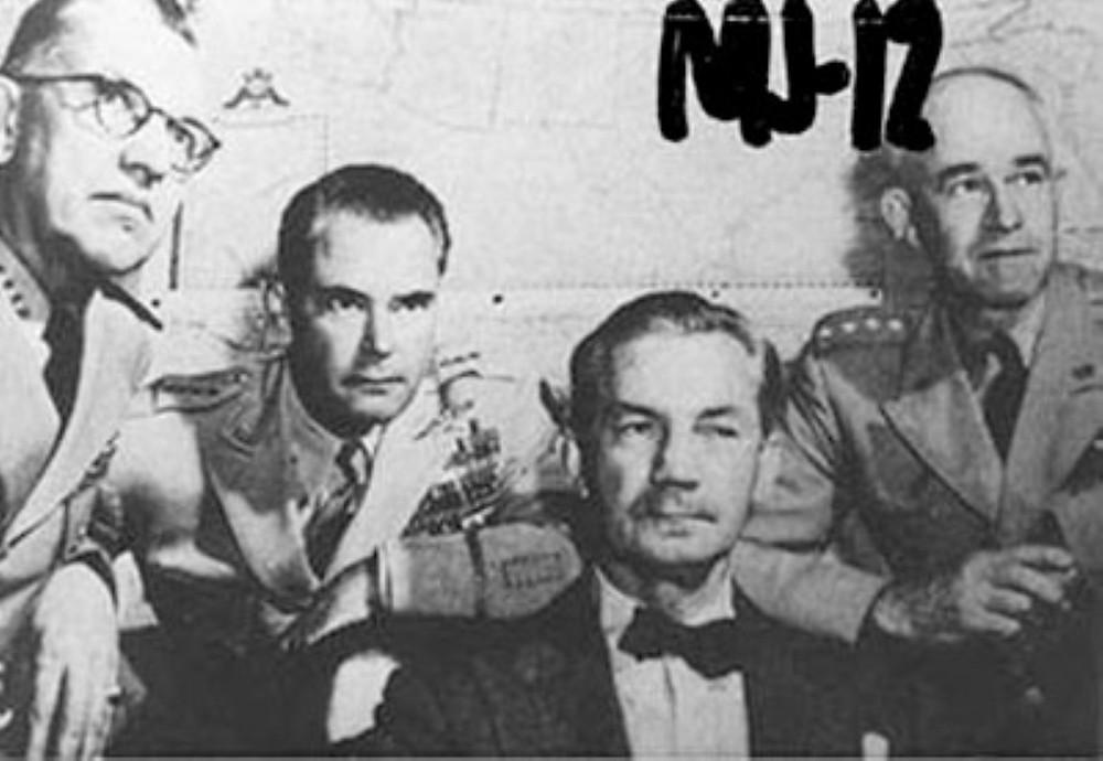 Alcuni presunti appartenenti alla prima formazione del MJ-12