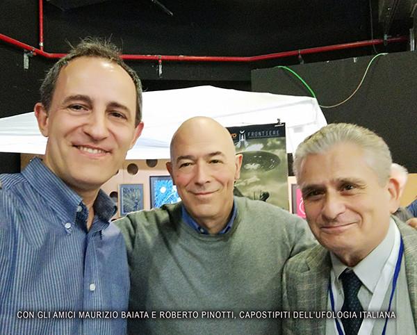 Pablo Ayo, Maurizio Baiata and Roberto Pinotti