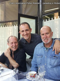 Ayo with Peter Robbins and Robert Bauval