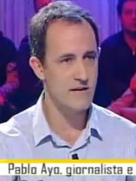 "Pablo Ayo guest at ""Le Falde del Kilimangiaro"" tv show"
