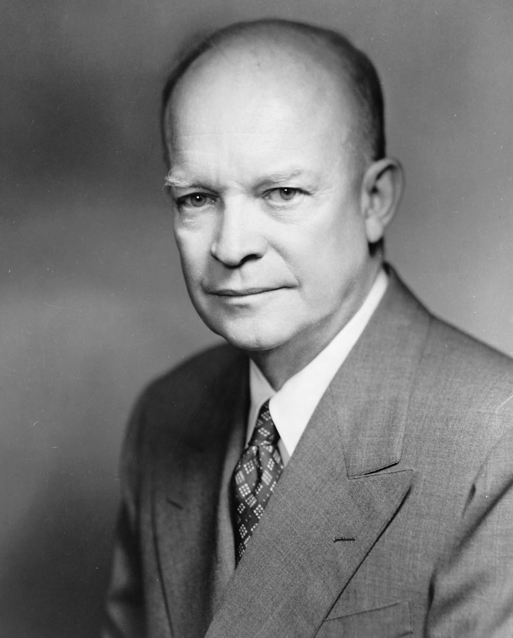 L'ex presidente USA Dwight_Eisenhower nel 1952