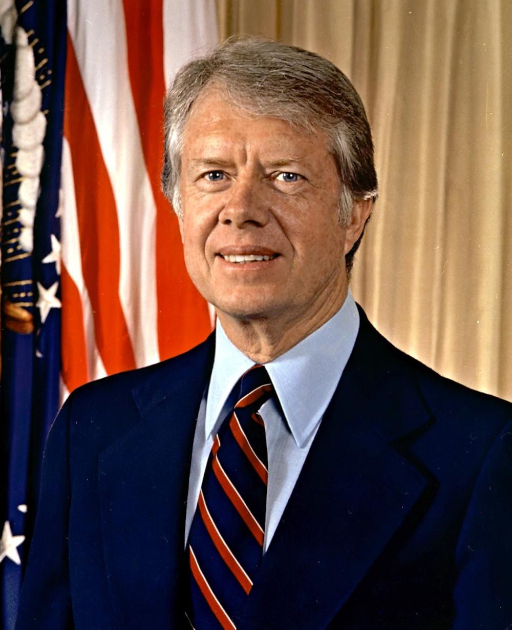 L'ex presidente USA Jimmy Carter