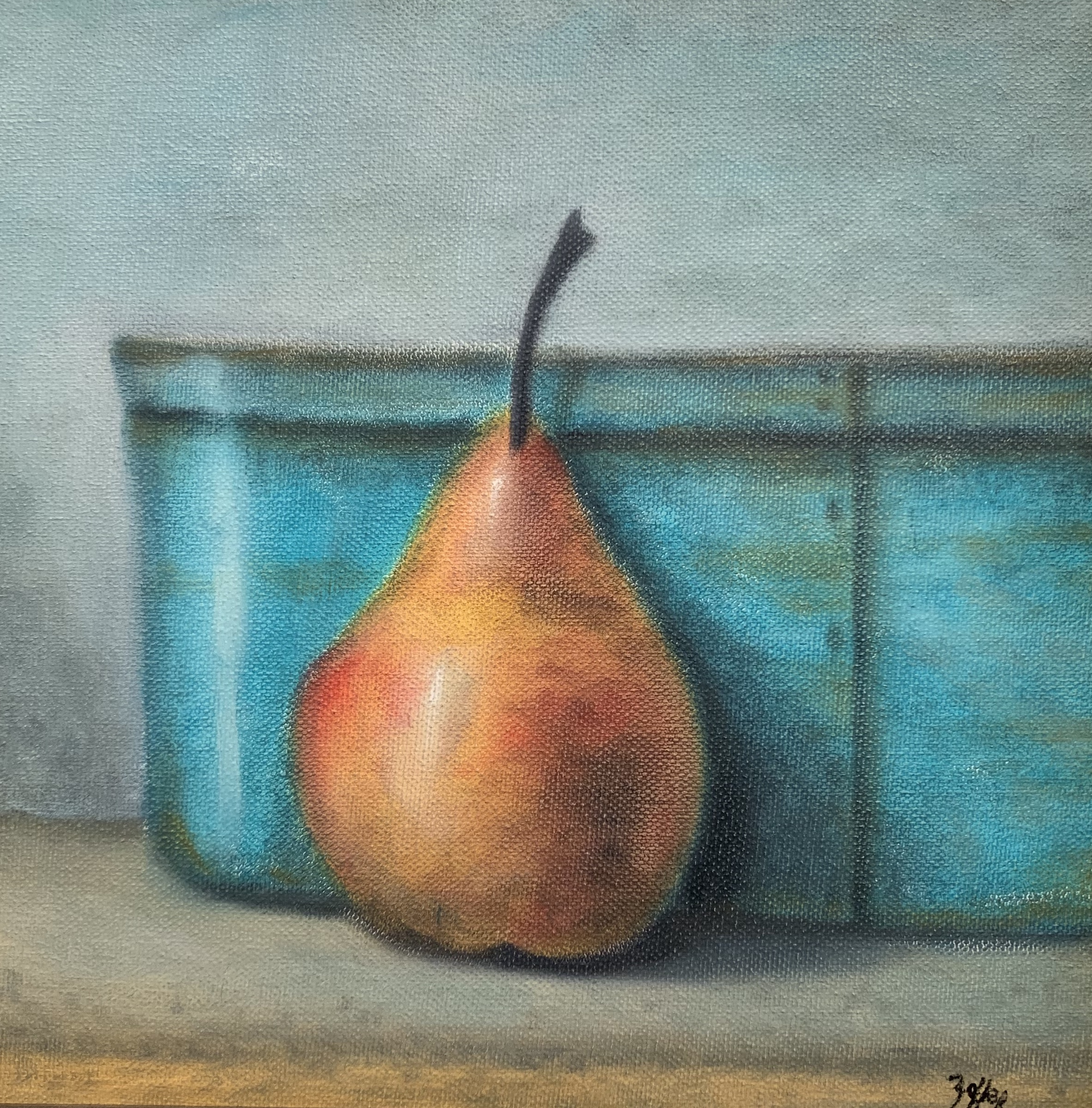 Pantry Box with Pear