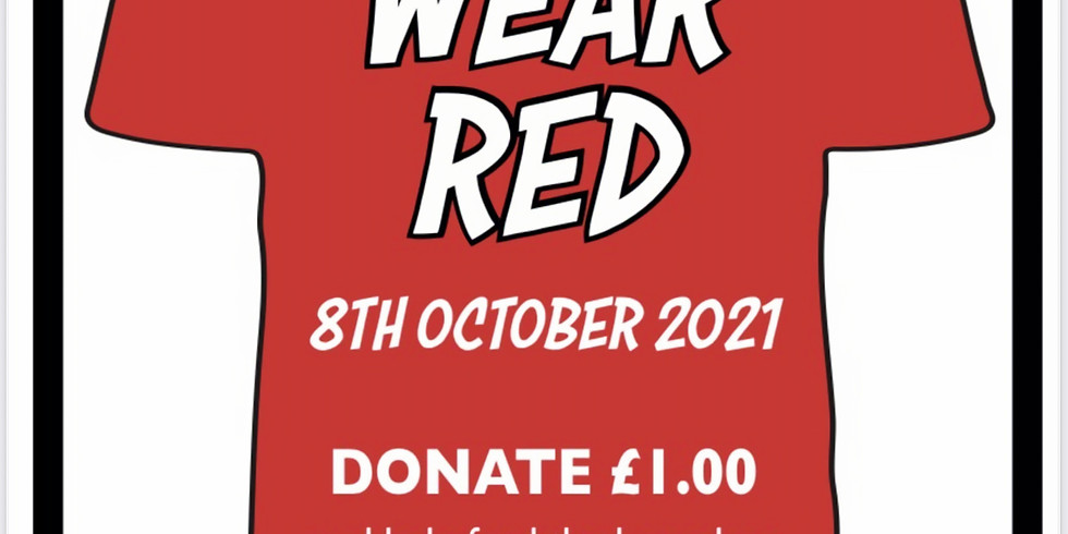 Wear Red for World Homeless Day
