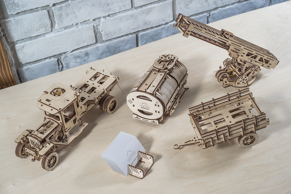 Ugears Truck Tanker  Fire Chassis