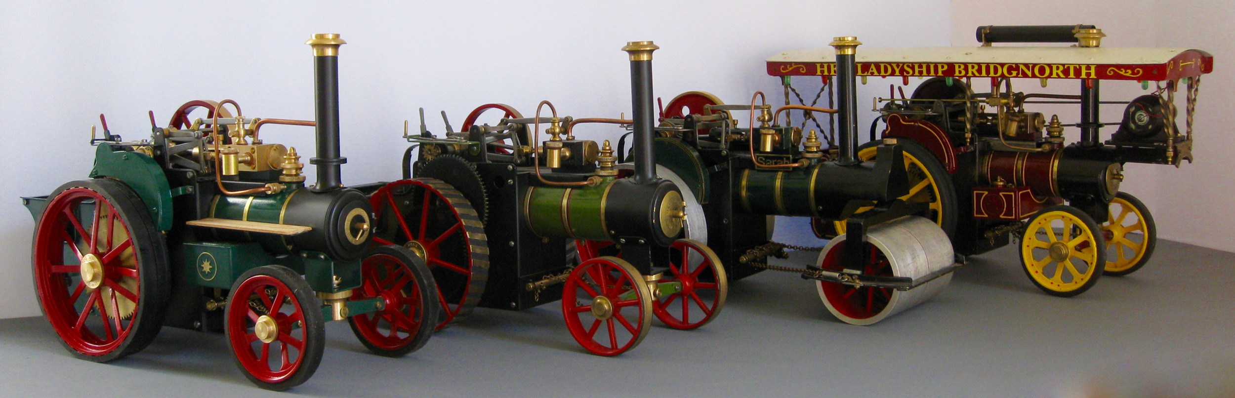 D R Mercer, live steam models kits, Ugears, Hielscher