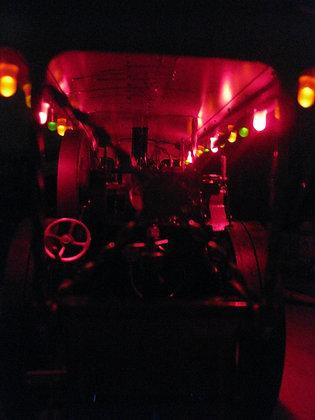 Showmans lighting set & wilesco generator