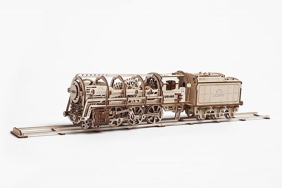 UGEARS Locomotive & Tender