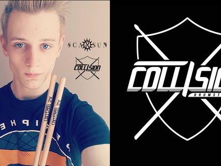 Collision Drumsticks Endorsement