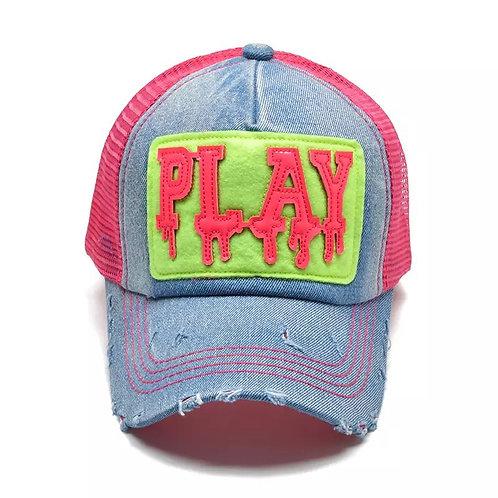 Fashion Baseball Mesh Snapback cap