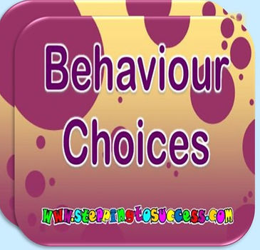 Behaviour Choices And Consequences Cards