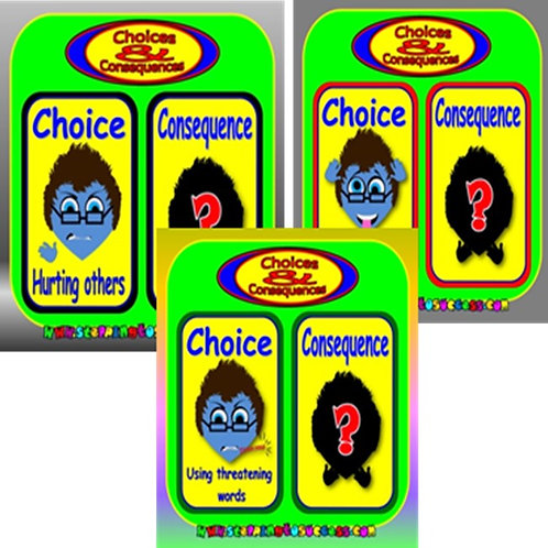 Choices & Consequences: Indoor/Outdoor Display Boards