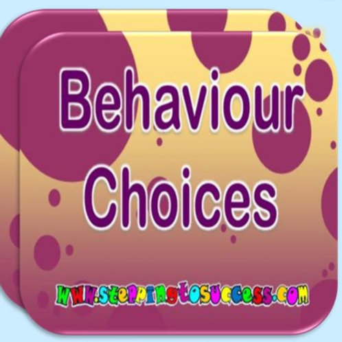 Behaviour Choice Cards - Radicalistion