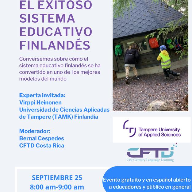 Charla educación Finlandia