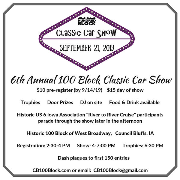 6th Annual 100 Block Classic Car Show 20