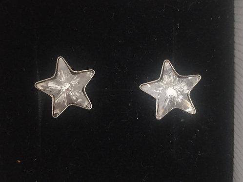 Boucles d'oreilles STAR Argent 925