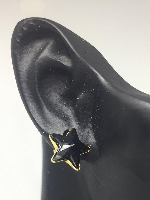 Boucles d'oreilles STAR Plaqué Or