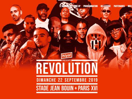 """Le festival rap """"Révolution"""" reporté à l'année prochaine !"""