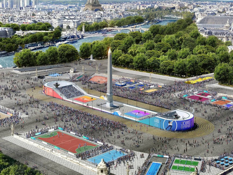 La place de la Concorde en centre sportif le 23 juin prochain lors de la journée Olympique