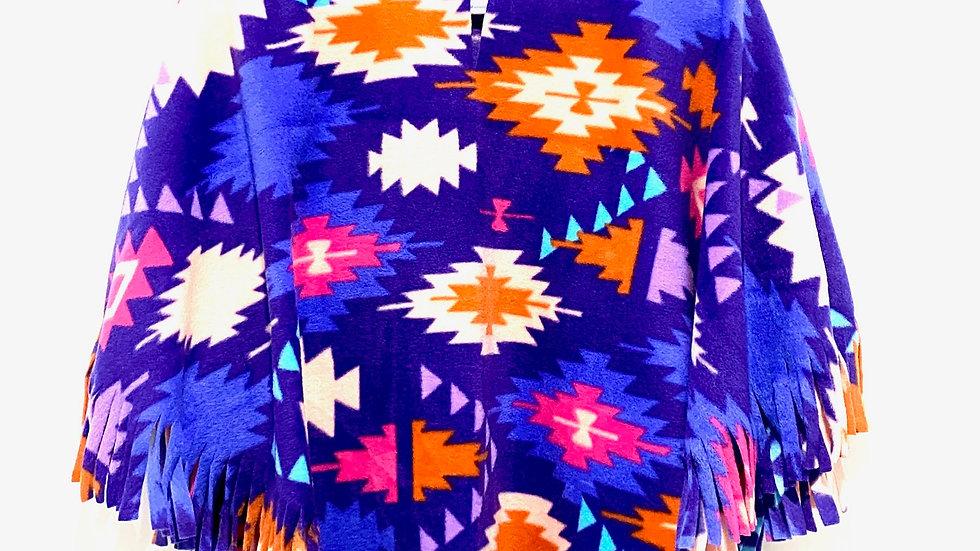 Purple Navajo Poncho