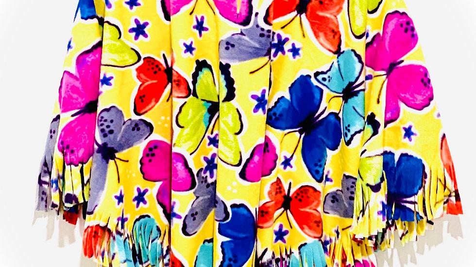 Yellow Flowers Poncho