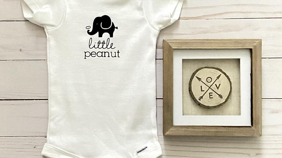 Baby Onesie - Little Peanut