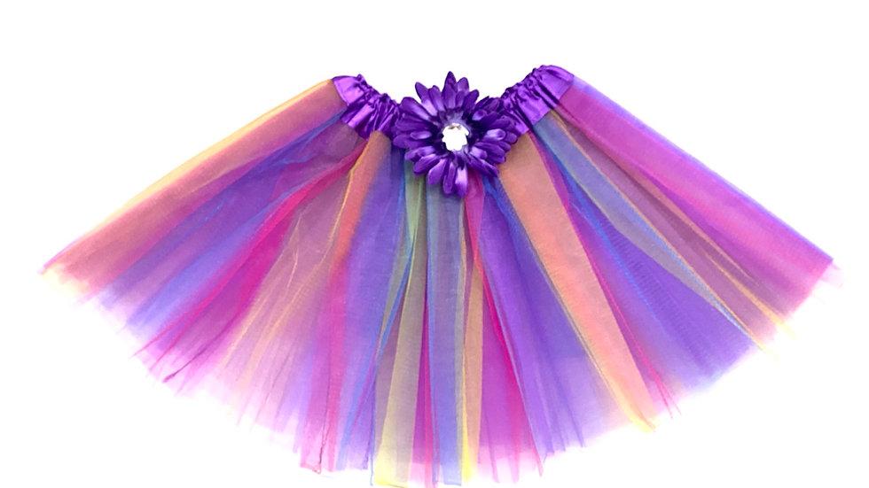 Purple Rainbow Tutu