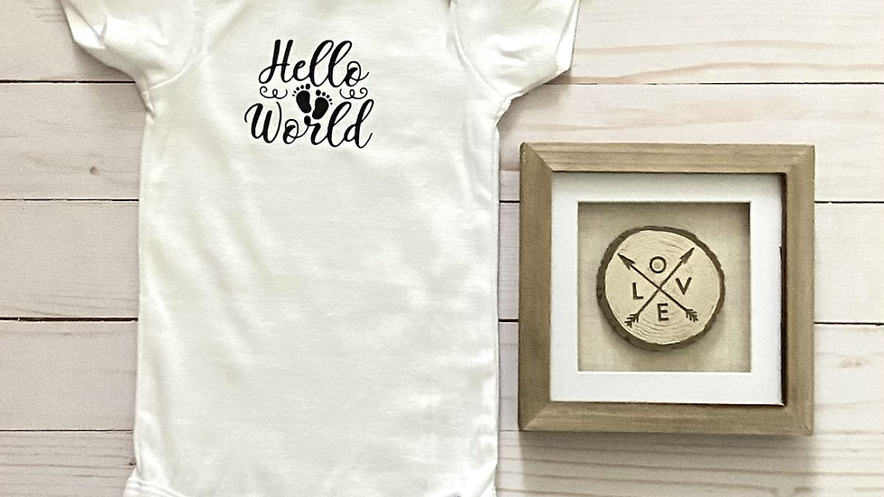 Baby Onesie - Hello World