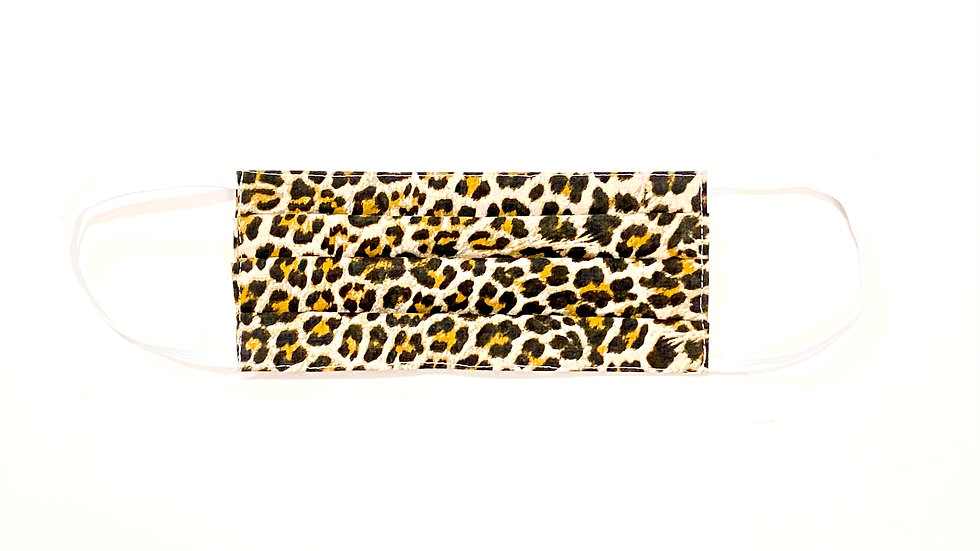 Adult Face Mask - Leopard