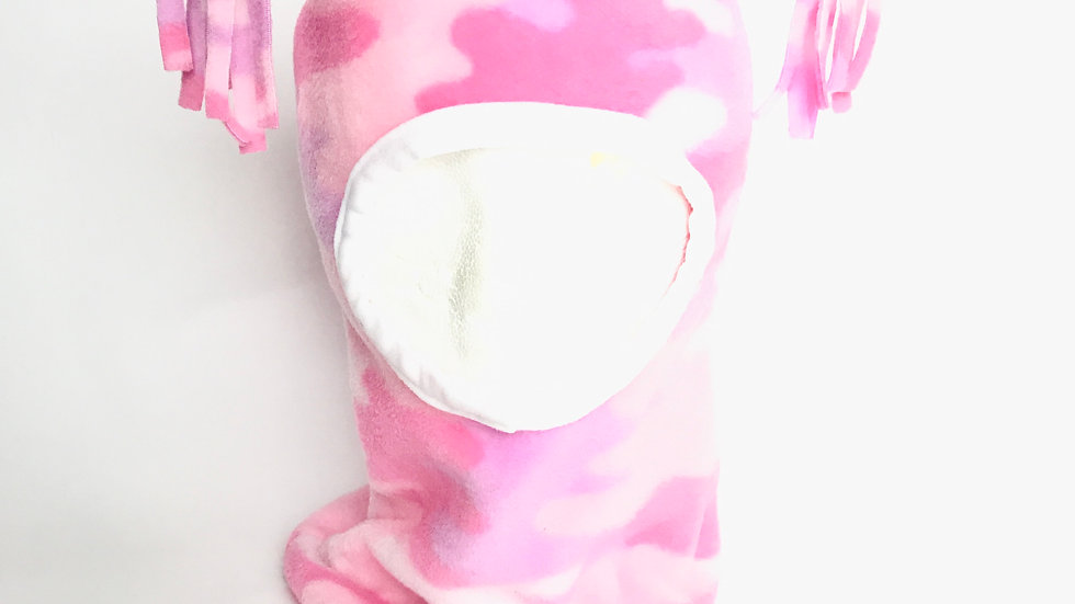 Baby/Toddler Pink Camo Hood Hat