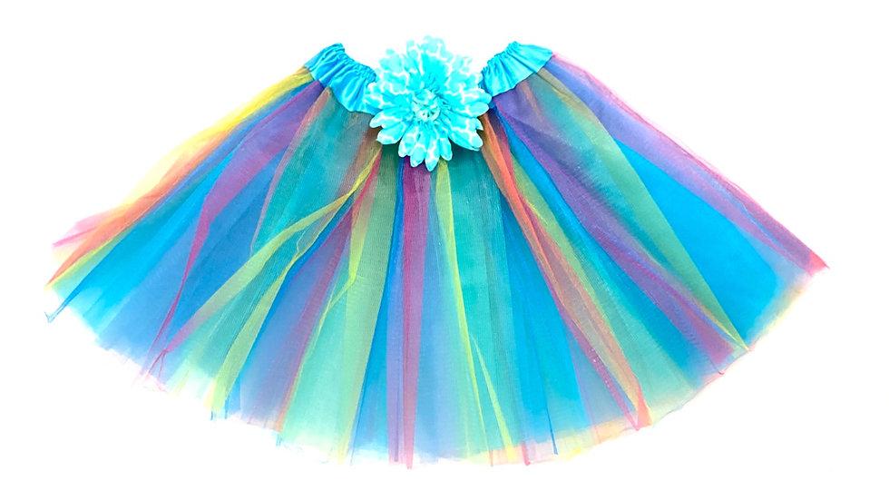Turquoise Rainbow Tutu