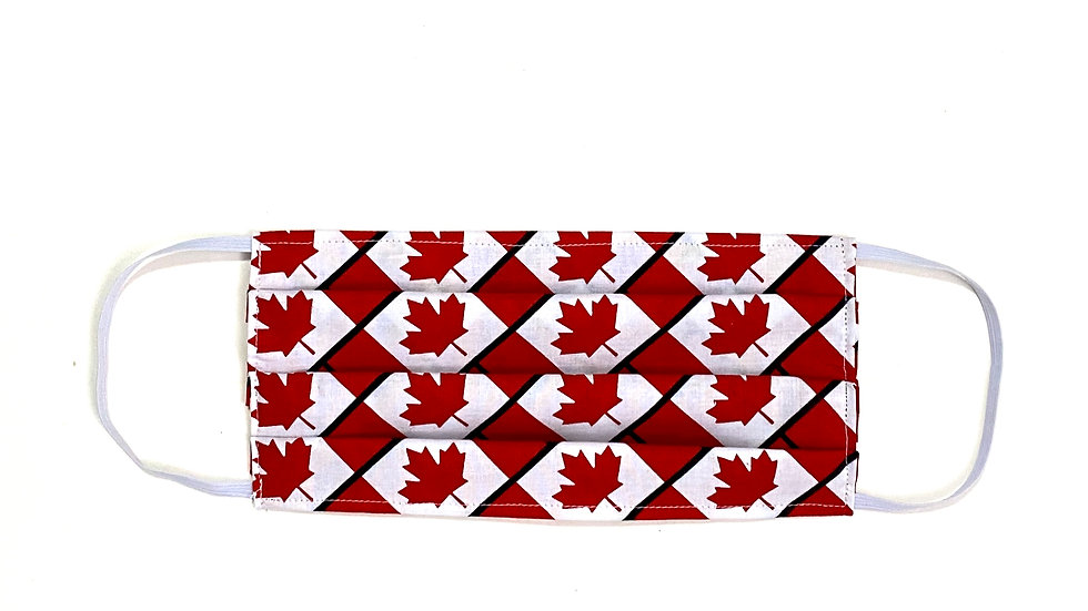 Kids Face Mask - Canada Print