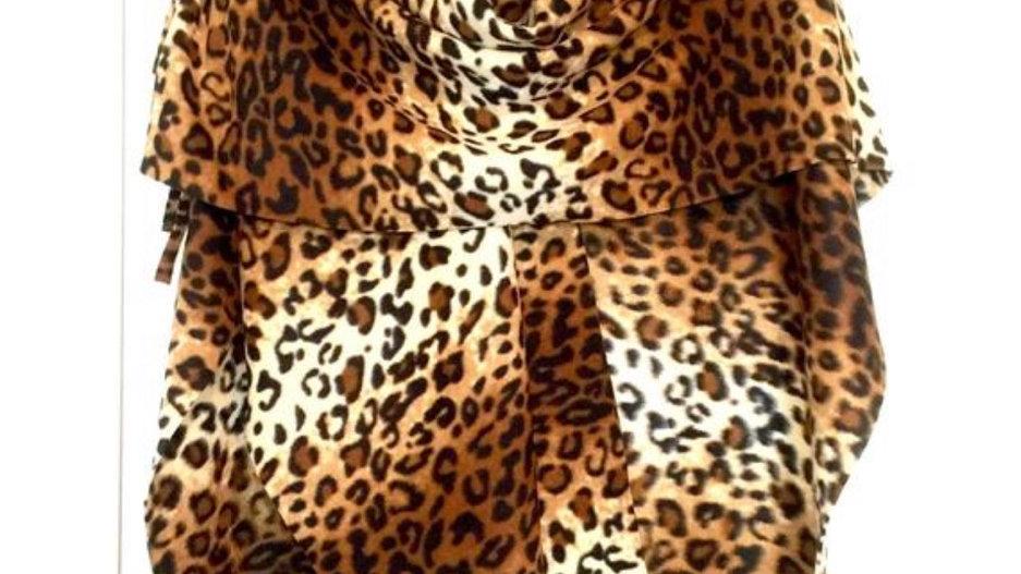 Ladies Wrap - Leopard