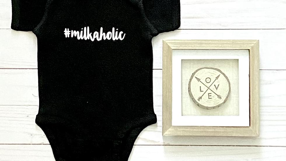 Baby Onesie - Milkaholic