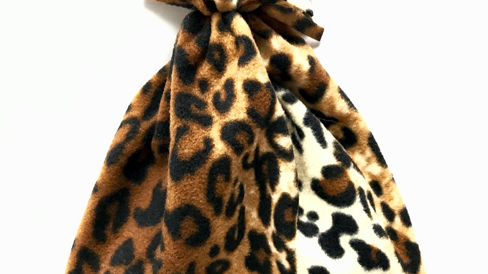 Baby/Toddler Leopard Fleece Hat