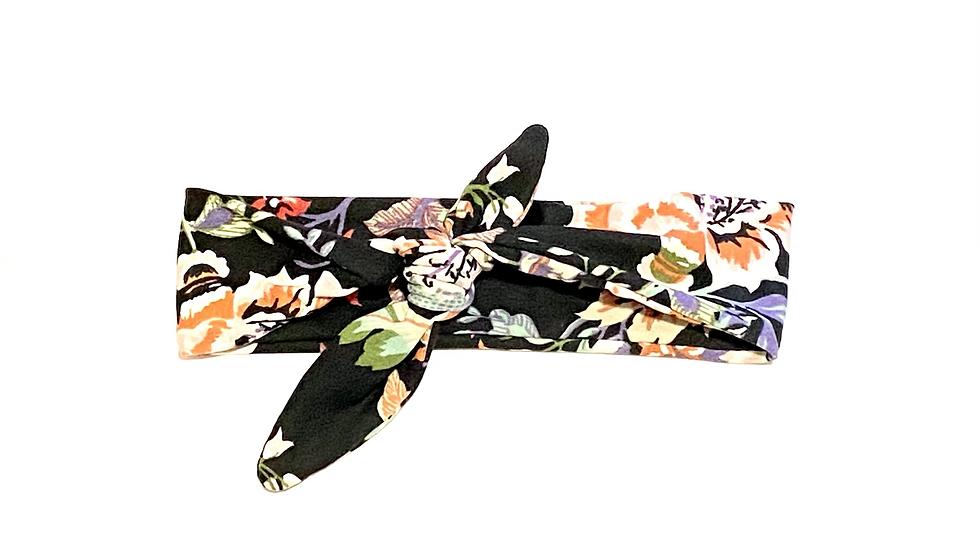 Autumn Floral Knot Headband