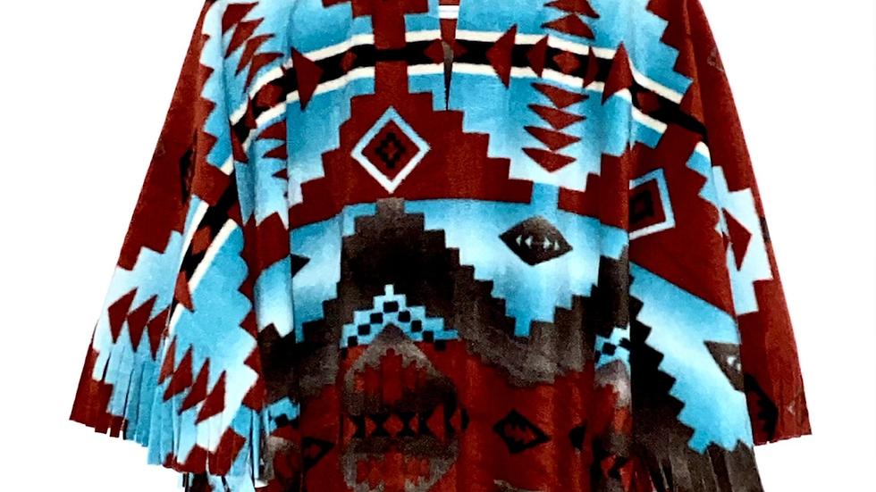 Southwest Navajo Poncho