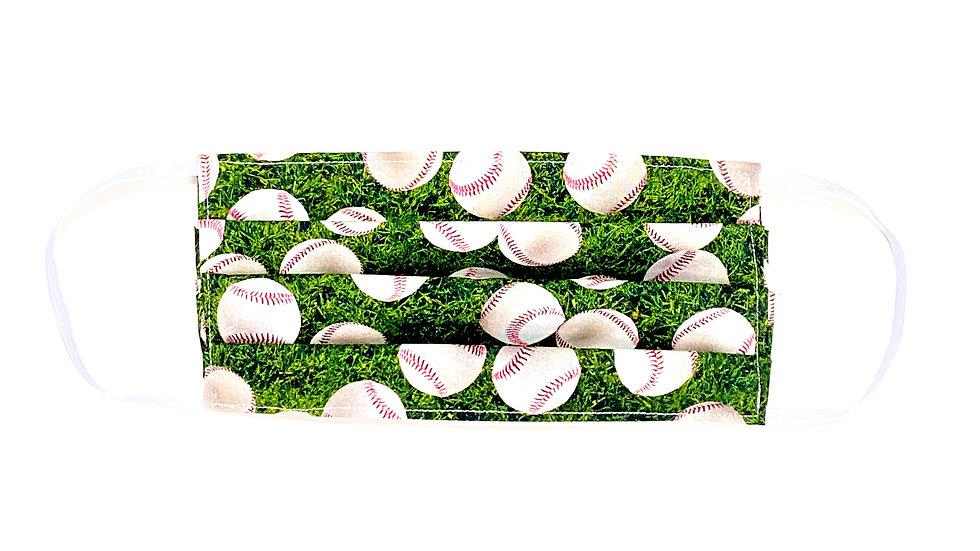 Adult Face Mask -Baseball