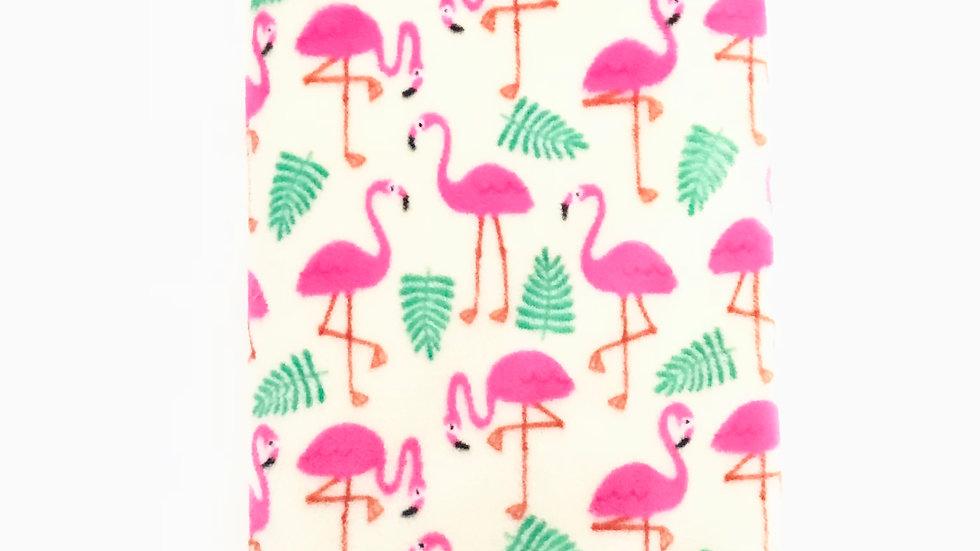 Pink Flamingo Stroller Blanket