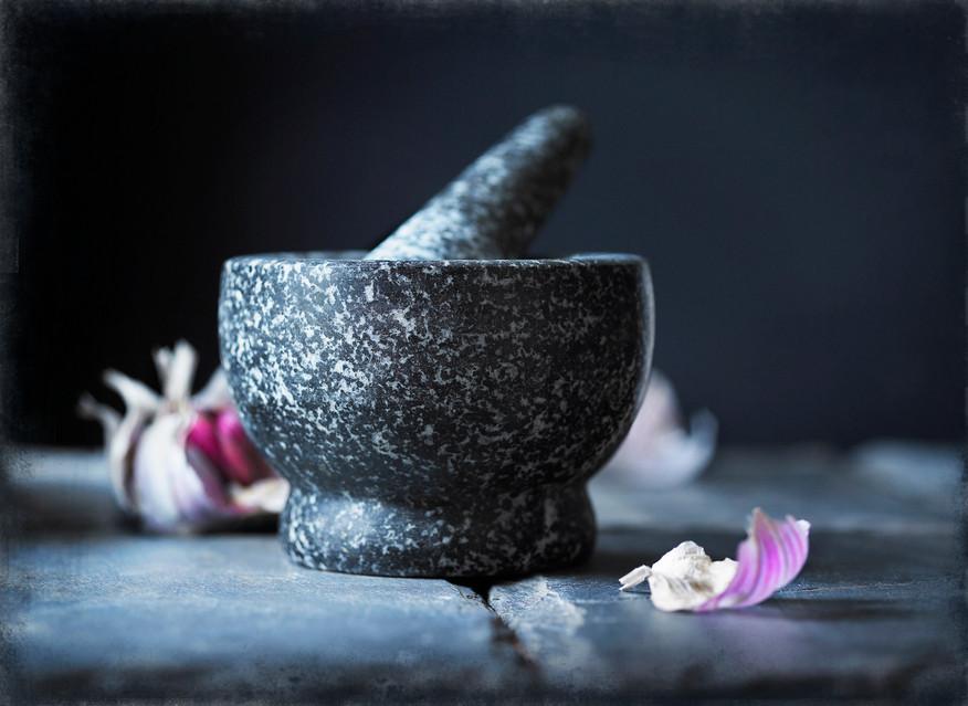 Mortice Pestle Garlic